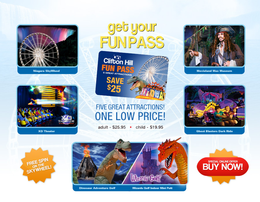 Memorial Day Fun Pass offer